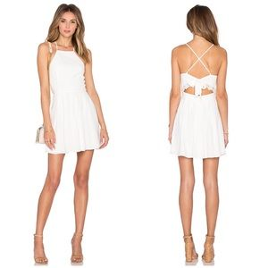 lover's friends dress Forget Me Not Dress Ivory M